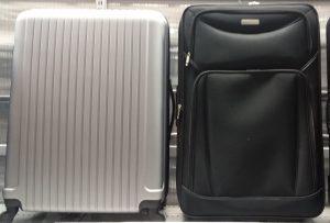 Hardside luggage and softside luggage