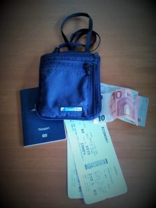 Travel documents and valuables