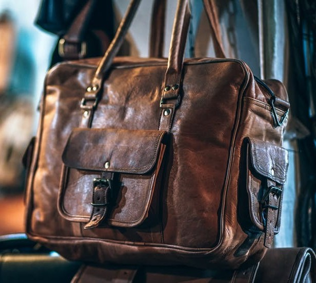 Leather bags need professional cleaning