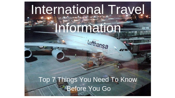International Travel Information