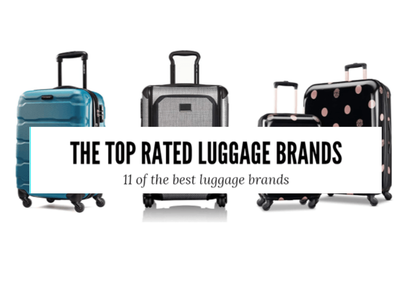 the top rated luggage brands