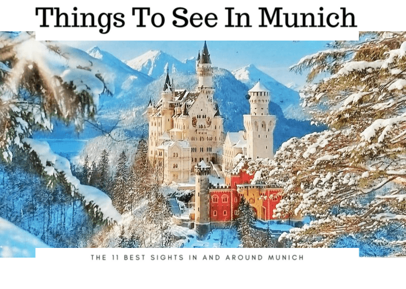Things to see in munich