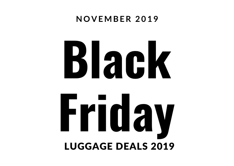 black friday luggage deals 2019